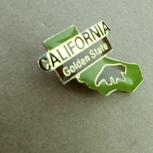 California pin!